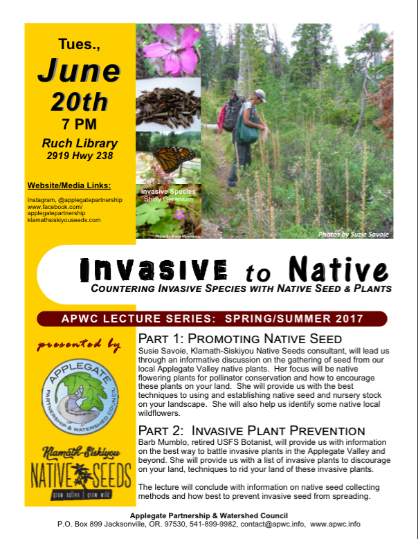 Invasive to Native